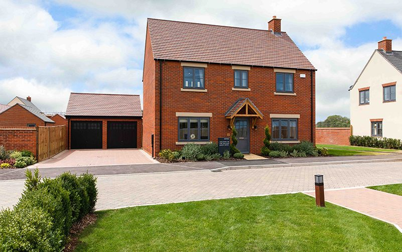 Show Home at Hayfield Green